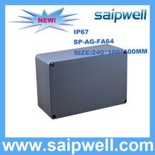 2015 Anti-corrosion IP67 Case Aluminum waterproof Box 240*160*100mm SP-AG-FA64