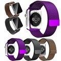 11 Цвет Горячая Sale1: 1 Оригинальный Миланского Петля Ремешки Для Apple WatchBand38mm42mm Тканая Сетка Из Нержавеющей Стали С Магнитной Лентой