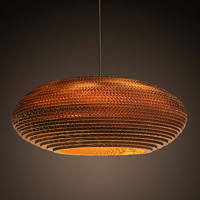 Southeast Asia Naked Pupa Honeycomb Weave Kraft Paper Pendant Lamp Restaurant Teahouse Tea Bar Home Decor Lighting Fixture соковыжималка caso sjw 400