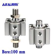 Double-headed double-out thin cylinder SDAD100X5X10X15X20X25X30X35X40X45X50X75-B