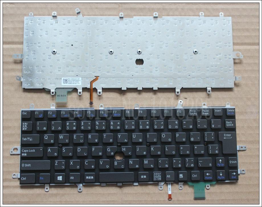 New Japan Tastiera Del Computer Portatile per sony vaio Duo 11 SVD11 D11 SVD11218CCB SVDII219CC SVD112A1SW JP tastiera RetroilluminataNew Japan Tastiera Del Computer Portatile per sony vaio Duo 11 SVD11 D11 SVD11218CCB SVDII219CC SVD112A1SW JP tastiera Retroilluminata