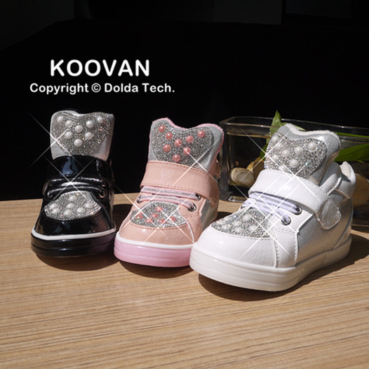 2015 New Todder Shoes First Walker Baby Boys Girls Shoes Pearl Children Sneakers Kids Shoes Children Infant Sneaker F224