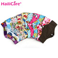 Women Sanitary Menstrual Cloth Pads No Stings Sticking Out No Leak Soft Bamboo Cotton Reusable Washable Pad Napkin Panty Liners