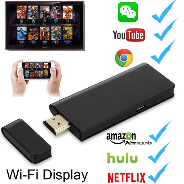 timeless design d81bf d12c4 US $17.08 10% OFF|HDMI Wireless WiFi Display Dongle HDTV Video Adapter  Airplay for iPhone X XS MAX XR 5 6 7 8 Plus iPad IOS Android Netflix to  TV-in ...