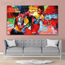 Embelish LeRoy Neiman HD Print On Canvas Oil Painting For Living Room Home Decor Wall Art Pictures Bedroom Posters Framed(China)