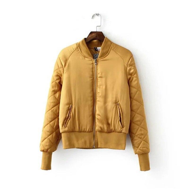 OLGITUM winter Fashion jackets women Casual parka Wadded Slim female jacket Short Basic jacket Cotton coat