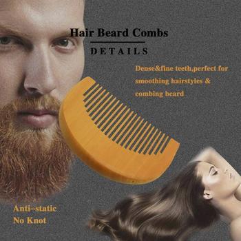 SPEQUIX Men's Beard Grooming Kit Included Massage Beard Oil, Mustache Balm,Beard Brush,Comb  Sharp Scissors 5PCS/Set 4