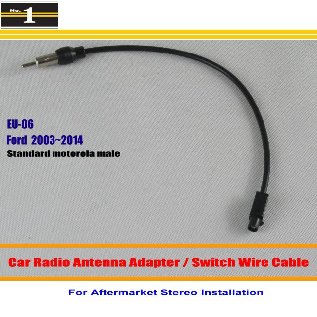 ford focus radio wiring promotion shop for promotional ford focus for ford cmax edge explorer fiesta focus fusion car radio antenna adapter aftermarket stereo antenna wire switch cable