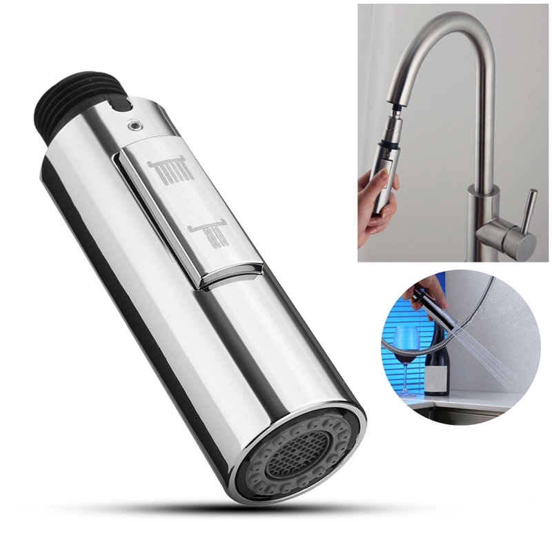 Superieur 1pc Pull Out Down Kitchen Faucet Spray Nozzle 360 Swivel Water Saving  Shower Sprayer Head Tap
