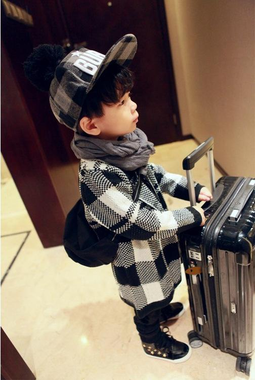 ФОТО Childrens 2017 New Fashion Spring and Autumn Coat Boys and Girls Cardigan Jacket Coat Sweater