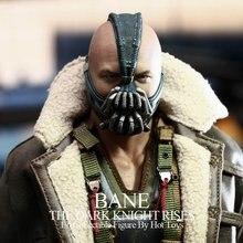 Высокое качество COS Бэйн маска COS Бэтмен Темный рыцарь маска Хэллоуин ужас костюмированный бал Бэйн шлем латекс маска жизни Размеры 1:1
