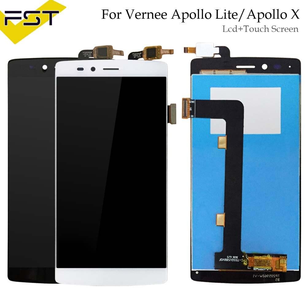 Para Vernee Apollo Lite pantalla LCD + TP táctil digitalizador de montaje de pantalla LCD 5,5