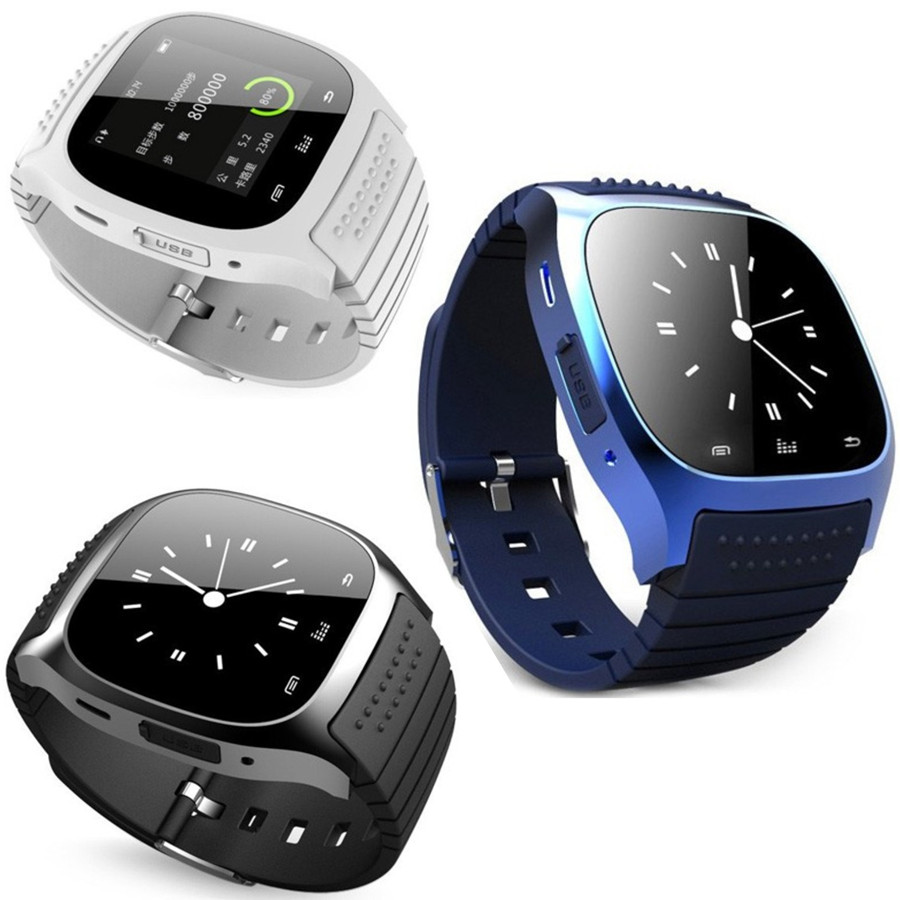Bluetooth Intelligente orologio Da Polso Intelligente Orologio Per iPhone  6 6 Plus 5 S Samsung S6 Nota 4 Smartphone HTC IOS Android Usura 28a846111af
