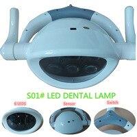 Новое поступление высокое качество стоматология светильник светодиодный индукционные лампы предназначены бестеневые стоматологического