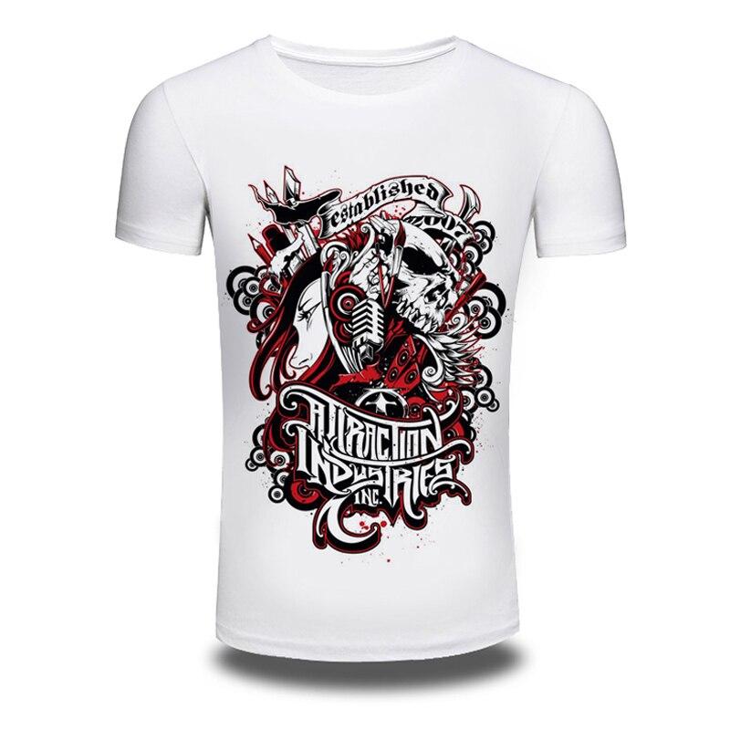 2016 Nuevo blanco camiseta para hombres establecido 2007 impresión Camiseta  corta de la manga del verano ccd35f6880dcb