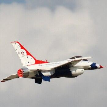 Freewing 90mm RC Jet F-16 Thunderbird Kit
