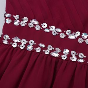 Image 5 - Шифоновое платье с V образным вырезом и блестками