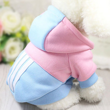 Dog Clothes Winter Soft Hoodie Chihuahua Warm Pet Clothing for Small XS Yorkie Coat