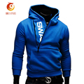 Fashion Brand Slim Fit Men Hoodie Side Zipper Sportswear Men Hoody Pullover Sweatshirt Hit Color Leisure Suit Puls Size M-6XL