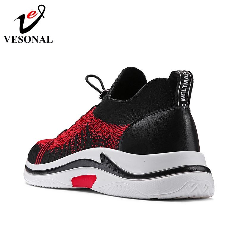 adulti scarpe primavera grigie nero autunno traspirante per Espadrillas New rosse leggero per nere maschile popolare Vesonal Walking morbido casual scarpe Mesh uomo 2018 scarpe pq0Pwxzx