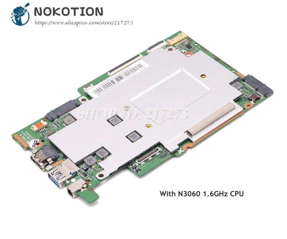NOKOTION For Lenovo Ideapad 110-11IBR 110S-11IBR Laptop Motherboard 5B20M53679 2GB RAM 32GB SSD N3060 1.6GHz CPUNOKOTION For Lenovo Ideapad 110-11IBR 110S-11IBR Laptop Motherboard 5B20M53679 2GB RAM 32GB SSD N3060 1.6GHz CPU