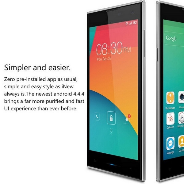 US $118 99 |Original iNew V7 Mobile Phone 2GB RAM 16GB ROM MTK6582 Quad  Core Android 4 4 OS 5 0