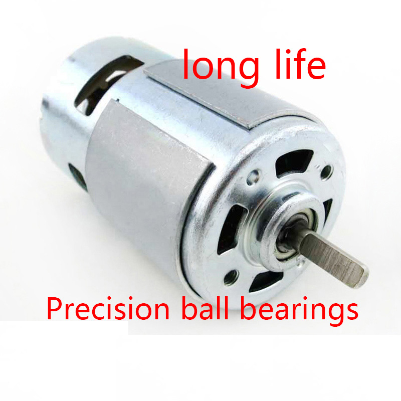 775 Motor (D-Shaft) / Big Wheel DIY Parts / Model Motor / 12V Mini Motor / DC Motor