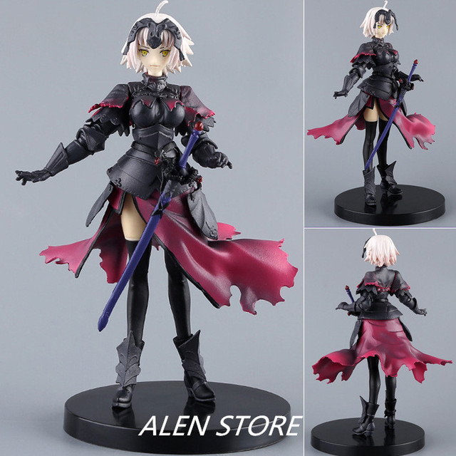 18CM Fate /Grand Order Japanese PVC anime figure Jannu Daruku action figure collectible model toys for boys