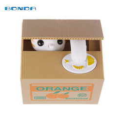 Panda Cat Thief Money boxes toy piggy banks gift kids money boxes Automatic Stole Coin Piggy Bank Money Saving Box Moneybox