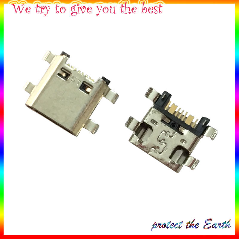 50Pcs/Lot,New OEM Micro <font><b>USB</b></font> Charging Charger Connector Port Dock For Samsung Galaxy J5 <font><b>J510</b></font> J7 J710 2016 image