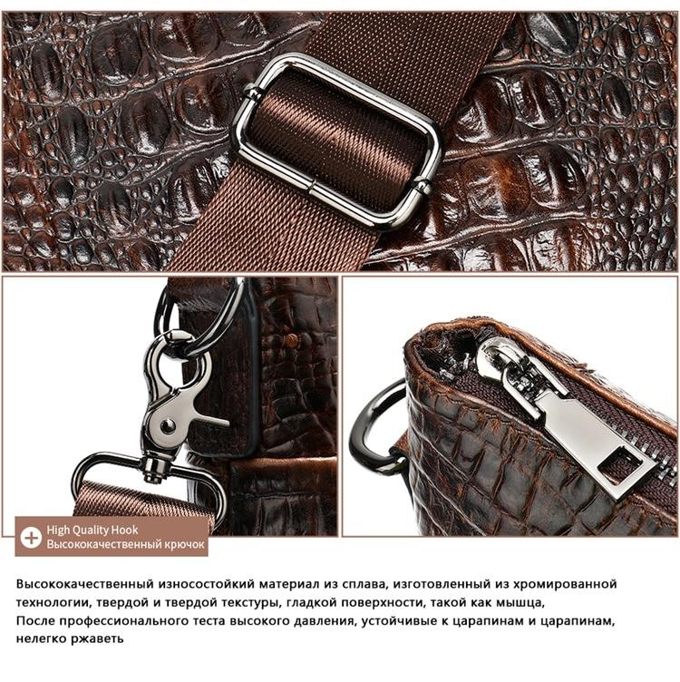 HTB1NYolbi 1gK0jSZFqq6ApaXXaC MVA Male briefcase/Bag men's genuine leather bag for men leather laptop bags office bags for men Crocodile Pattern handbag 5555