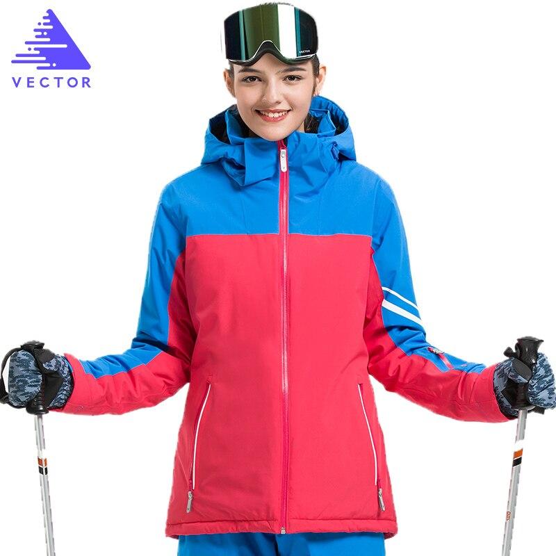 Veste synthétique de Ski Extra épaisse capuche chaude Sport de neige hommes manteau d'hiver femmes Ski Snowboard vêtements de plein air imperméable 2019 nouveau - 5