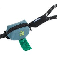 Dog Poop Bag Holder Leash Attachment Waste Bag Dispenser Walking Running Hiking Accessory With One Free