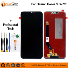 цена на 6.26'' New LCD Screen For Huawei Honor 8C LCD Display Touch Screen Digitizer Assembly For Honor Paly 8C BKK-AL10 LCD Replacement
