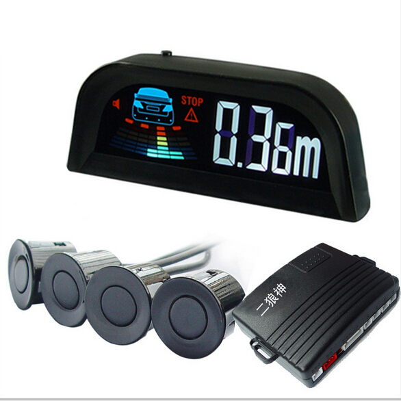 4/6/8 capteurs rappel vocal humain Kit de capteur de stationnement de voiture Radar de secours inverse indicateur d'alerte sonore système de sonde 12 V 30 couleurs