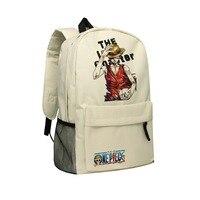 Zshop Oxford Bag Comic One Piece Backpack Monkey D. Luffy Schoolbag