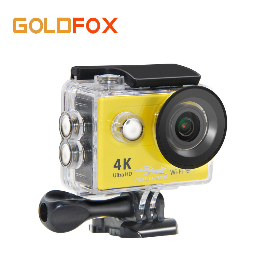 GOLDFOX H9 Action camera Ultra HD 4K / 60fps WiFi 2.0 170D underwater waterproof Helmet Cam camera Sport cam