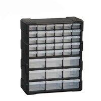 Parçaları kutusu alet çantası Çok ızgara Çekmece tipi Bileşen araç Yapı taşları Vidalı saklama kutusu yüksek kalite 6 renkler