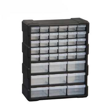 Parts Box Tool Case Multi-grid Drawer Type Component Toolbox Building Blocks Screw Storage Box High Quality 6 Colors