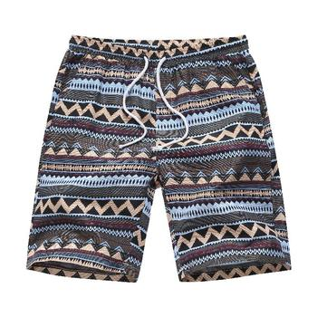 Fashion Men Shorts Hawaiian style Leisure Summer Flowers Casual Floral Beach Pants Mens clothing