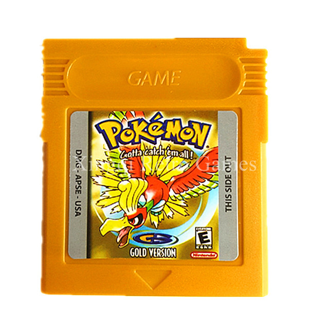 Nintendo GBC Game Pokemons Collective Edition Video Game Cartridge Console Card for Game Boy Color English Version