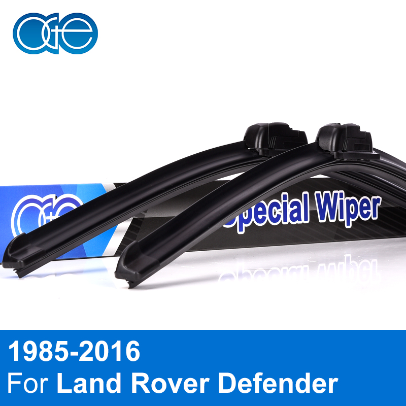 Oge Windscreen Wiper Blades For Land Rover Defender 1985-2016 Pair 13+13 Windshield Silicone Rubber Auto Car Accessories