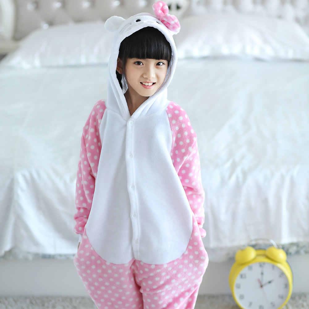 5dcb6ade2e ... Wholesale Unisex Cartoon Animal Kitty Cat Onesies Onesie Pajamas  Jumpsuit Hoodies Sleepwear For Adults ...