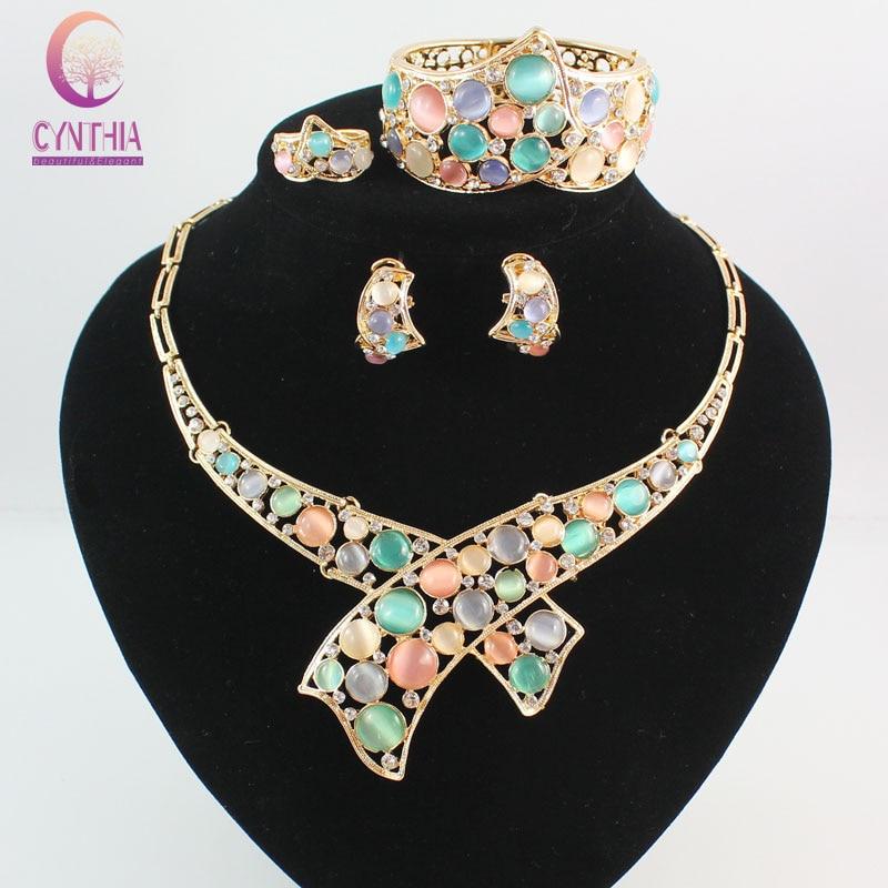 buy austrian crystal circle opal peacock