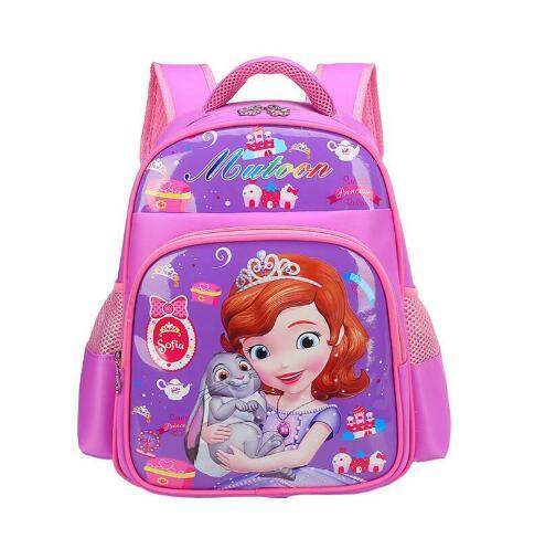 2018 New Sofia Princess Backpack School Bags for Kids Girls Children Primary School Book Bag Schoolbag Elementary