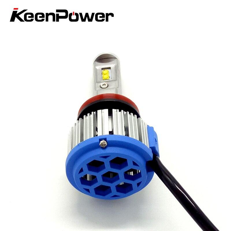 Keenpower H3 H11 9005 9006 HB4 70 W 3800lm Voiture Phares Antibrouillard Avant Lumière Ampoule Automobiles Projecteur 6000 K Éclairage