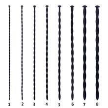 8 pçs/set Silicone Longo Pênis Plugue Uretral Som Penis Estimulação Uretral Dilatadores Plugue Soando Vara Brinquedos Adultos Do Sexo Para Homens