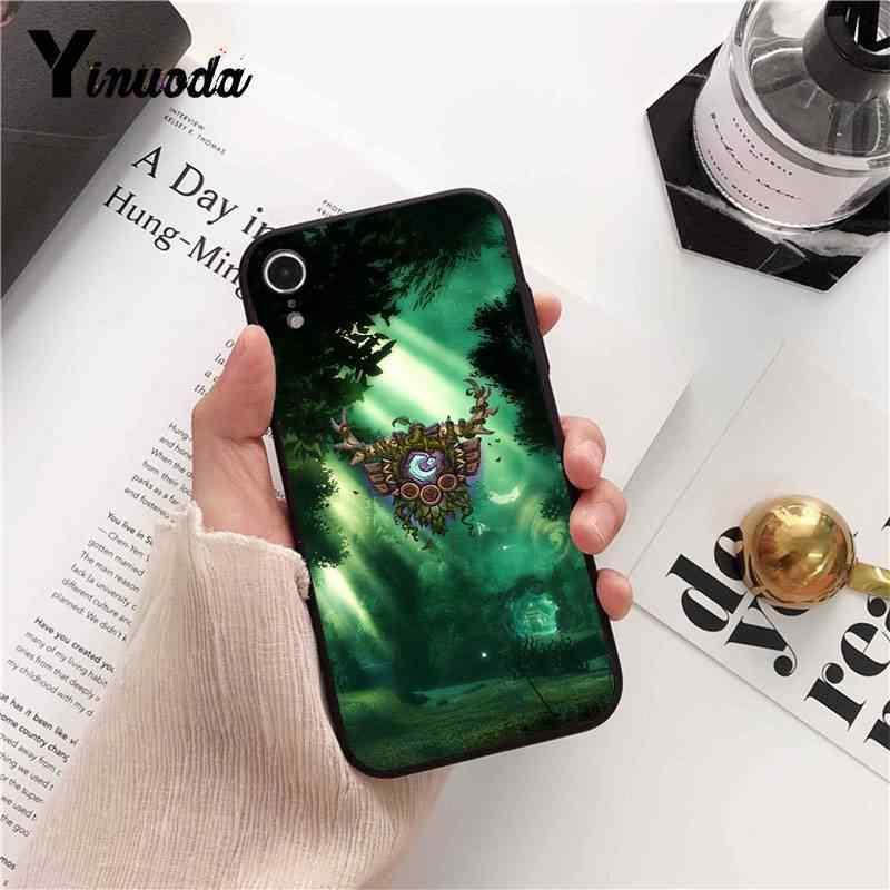 Yinuoda wows mundo de warcraft tpu macio silicone caso do telefone para o iphone 8 7 6 s plus x xs max 5 5S se xr 10 11 11pro 11promax