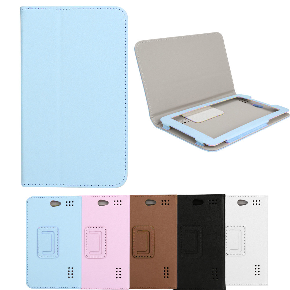 For 7 Inch Tab Android Tablet PC Universal Folio Leather Case Cover Stand For 7 Inch Tab Android Tablet Leather Case M.13 for huawei mediapad 7 youth 2 s7 721u 7 0inch universal tablet leather case for tablet 7 inch bags free stylus center film