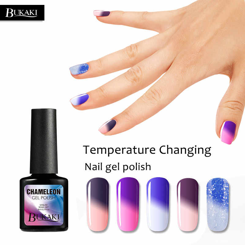 Bukaki Nail Art Professional Gel Lucky Temperature Change Color Primer Led Uv Nail Gel Polish Thermal Acrylic Bio Gel Varnish Gel Varnish Led Uv Nail Gelpolish Thermal Aliexpress מצא את המבצעים הטובים ביותר על כל מה שאתה צריך. aliexpress
